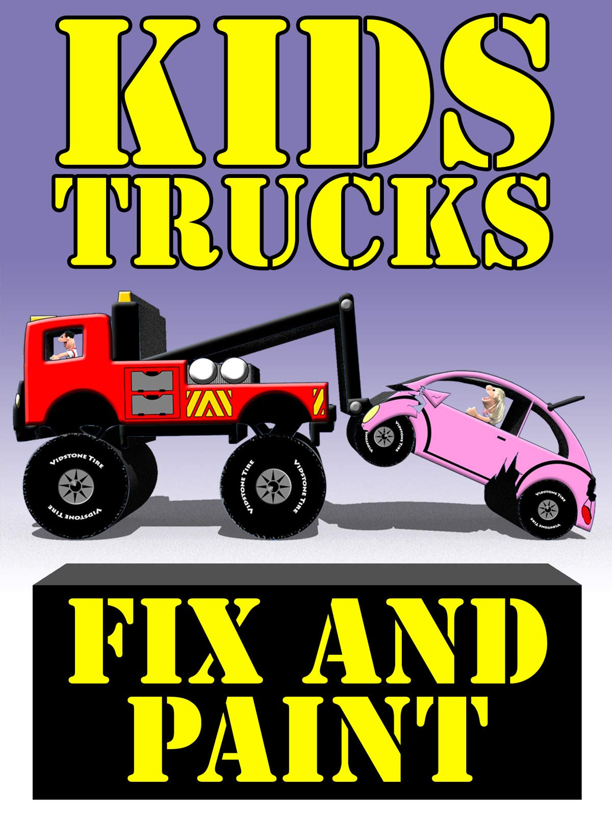 Kids Trucks Fix and Paint