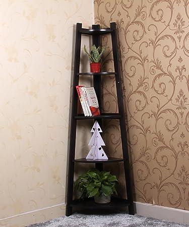 Cornice in legno massiccio Raffreddamento per fioriera da giardino Scaffale per contenitori per pavimento Cornice decorativa in bianco e nero ( Colore : Nero , dimensioni : 37*22*150cm )