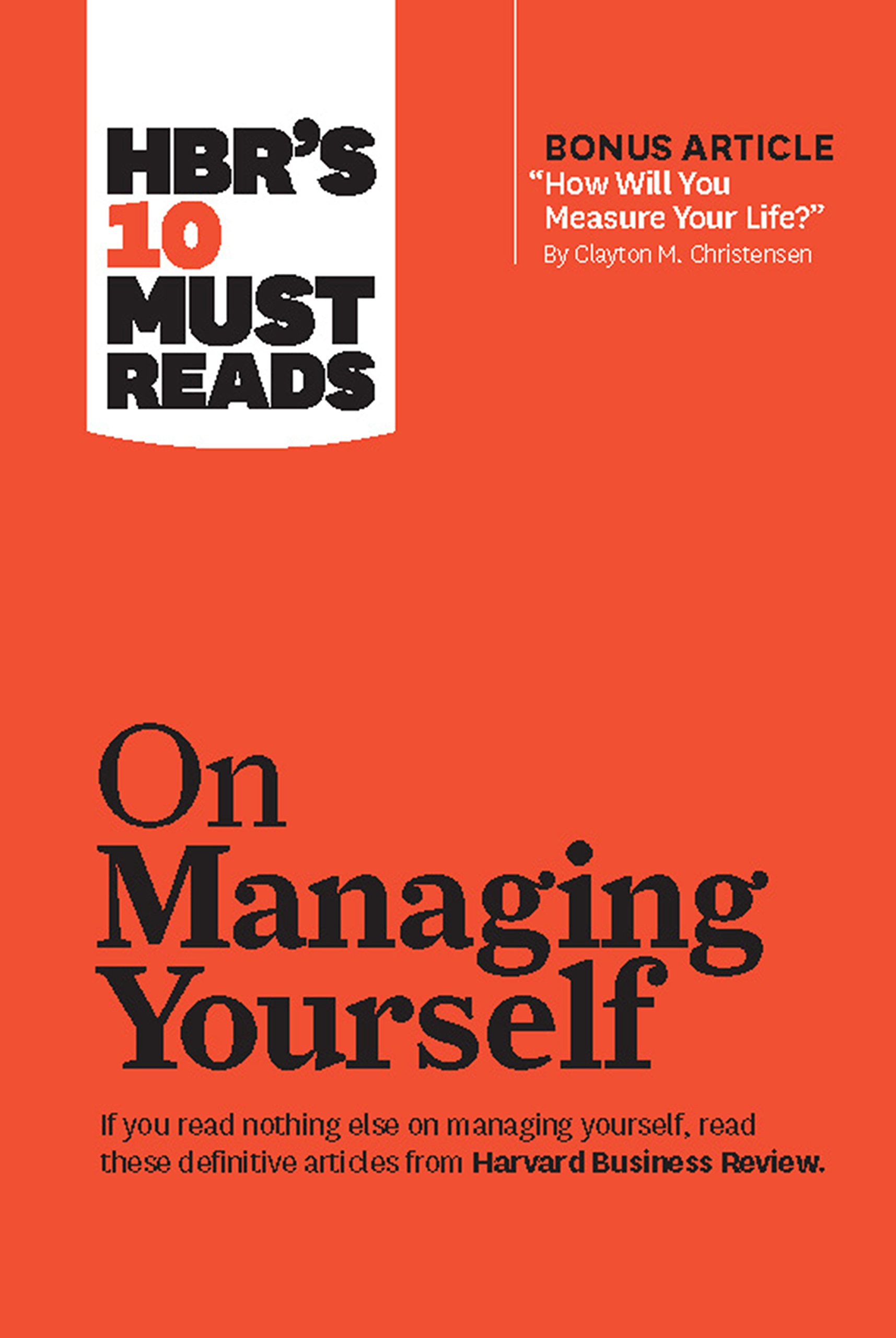 Buy Hbr's 10 Must Reads: On Managing Yourself Book Online At Low Prices In  India  Hbr's 10 Must Reads: On Managing Yourself Reviews & Ratings   Amazon