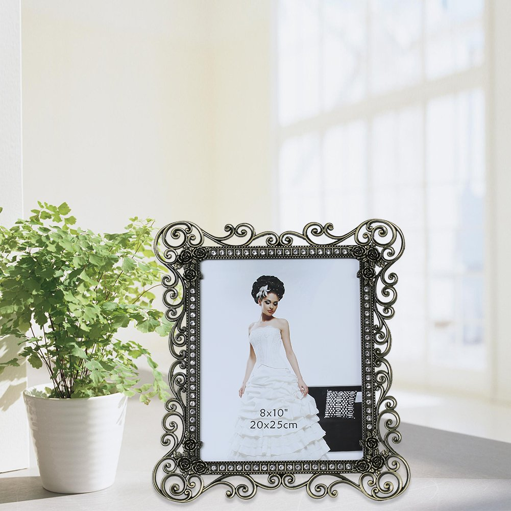 Gift Garden 8 by10-inch Vintage Picture Frame for 8x10 Photo 1
