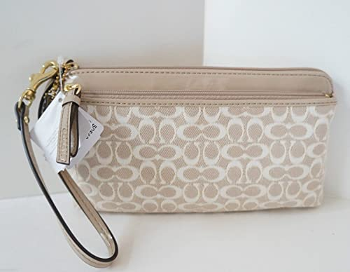 Poppy Double Zip Wallet Double Zip Wristlet Wallet