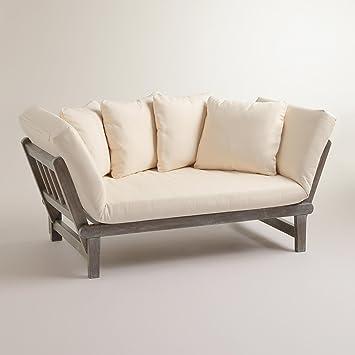 Graywash Studio Day Sofa - World Market