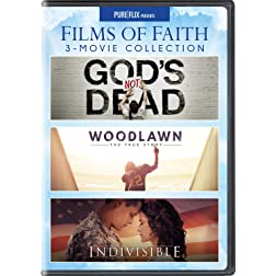 Films of Faith 3-Movie Collection (God's Not Dead / Woodlawn / Indivisible)