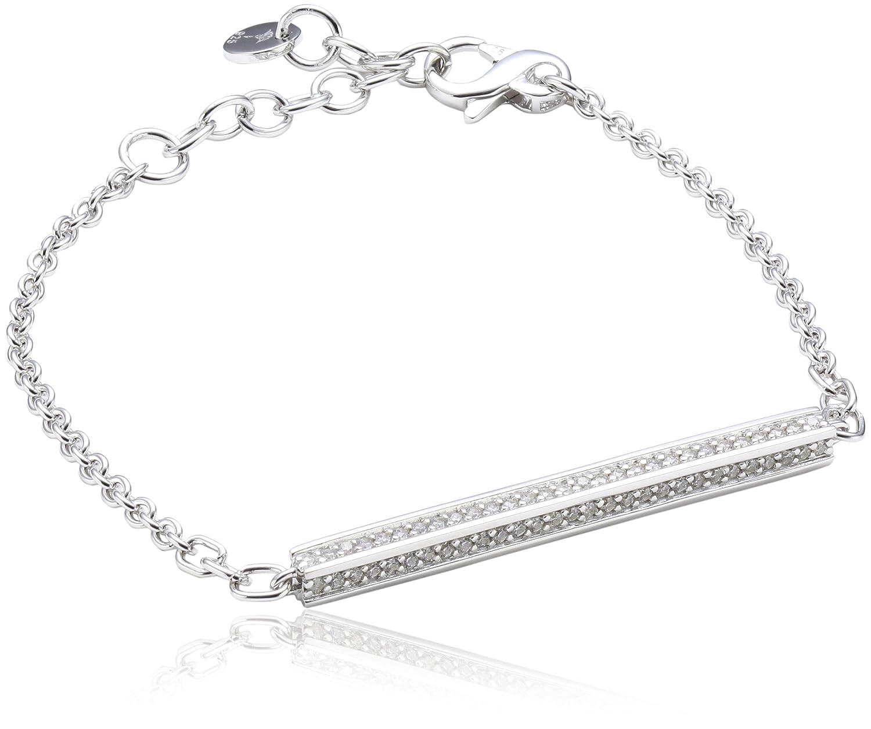 Joop Damen-Armband Zirkonia weiss 195 cm 925 Sterling Silber JPBR90353A195 jetzt bestellen