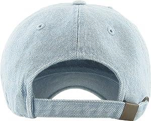 49192ef1 KBSV-042 LDM Alien Vintage Dad Hat Baseball Cap Polo Style Adjustable  (Color: (Distressed) Light Denim, ...