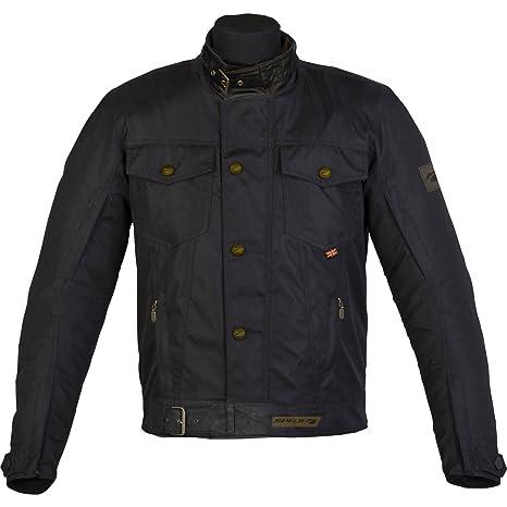 Spada moto Textile veste cire syndicat noir