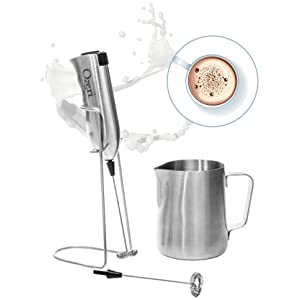 Ozeri OZMF2 Deluxe Stainless Steel Milk Frother width=