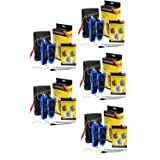 iMBAPrice - (5-Pack) Wire Tracker for Network (RJ45) UTP/STP/Cat5/Cat6 and Telephone (RJ11) Line Finder Diagnose Tone Tracer Cable Tester (Tamaño: 5-Pack)