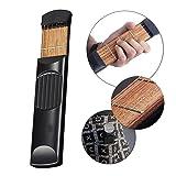 Vinmax Portable Wooden Pocket Guitar Practice Tool Gadget Guitar Chord Trainer 4 Fret