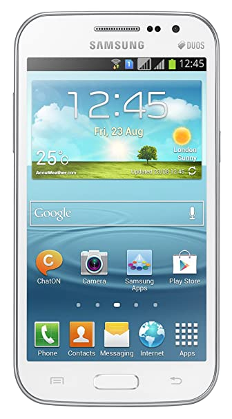 Samsung Galaxy Grand Quattro GT I8552  Ceramic White  available at Amazon for Rs.8000