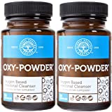 Global Healing Center Oxy-Powder Colon Cleanse Detox - Oxygen Based Safe and Natural Intestinal Cleanser - Relief from Occasional Constipation 20 Capsules (2 Pack) (Tamaño: 2 Bottles)