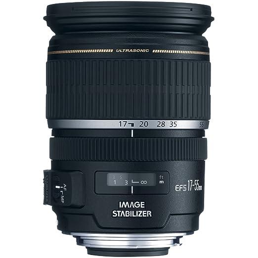 Canon - EF-S - Objectif à zoom - 17 mm - 55 mm - f 2.8 IS USM - Canon EF-S - pour EOS 1000, 40, 450, 50, 500, 7D, Kiss F, Kiss X2, Kiss X3, Rebel T1i, Rebel XS, Rebel XSi