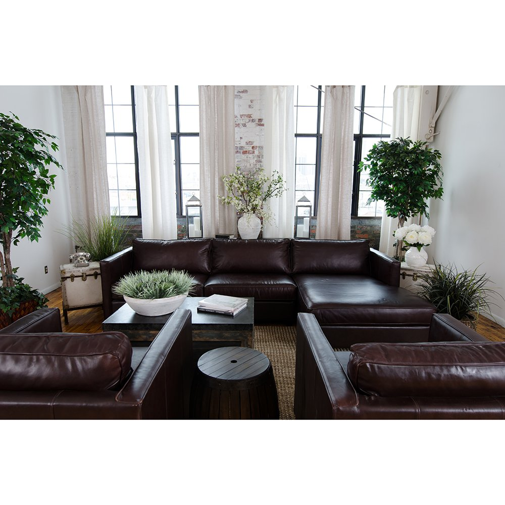 4-Pc Upholstered Sectional Set