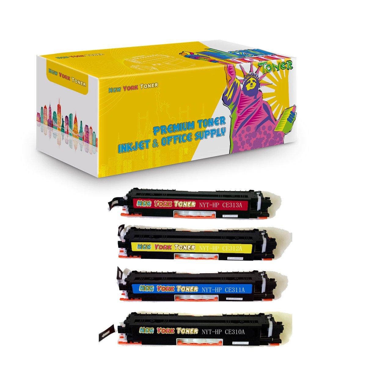 Color printout price in delhi - Compatible Hp 126a Color Cp1020 Cp1025nw Toner E310a Ce311a Ce312a Ce313a Cartridges Combo 4 Pack