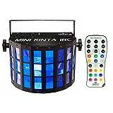 Chauvet Mini Kinta IRC RGBW LED Derby Effect Light + IRC-6 Remote Control