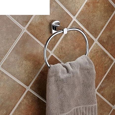 HCP Hardware accessori per il bagno/Tutto il rame anello di tovagliolo creativo/ciondolo appeso asciugamano rotonda