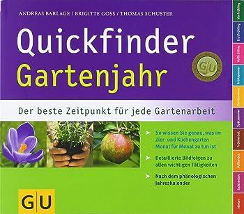 Quickfinder Gartenjahr: Der beste Zeitpunkt für jede Gartenarbeit
