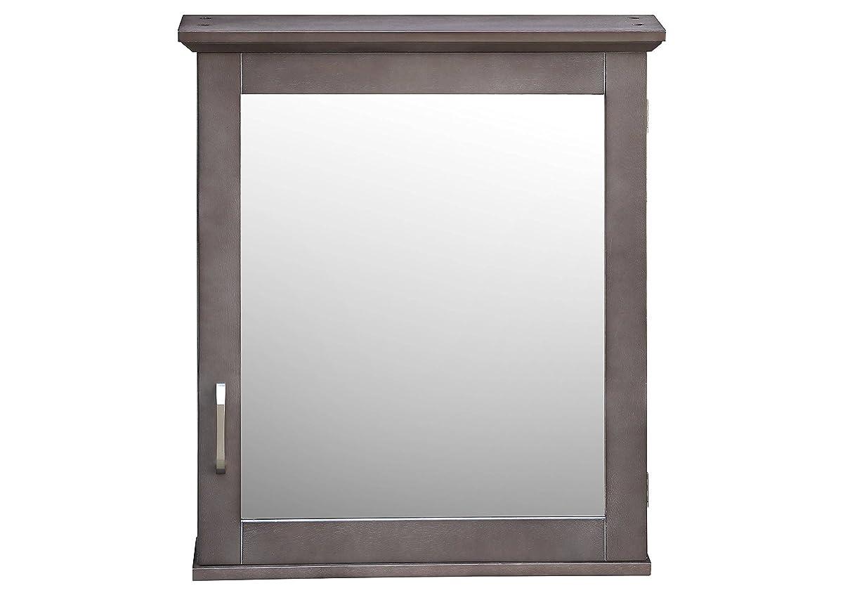 Threshold Wood Medicine Cabinet (Grey)