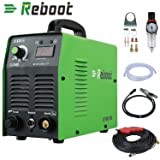 Reboot Plasma Cutter 35Amps DC 110V Portable Metal Cutter 2/5 Inch Clean Cut Inverter Cutting Machine (Color: Green, Tamaño: Medium)