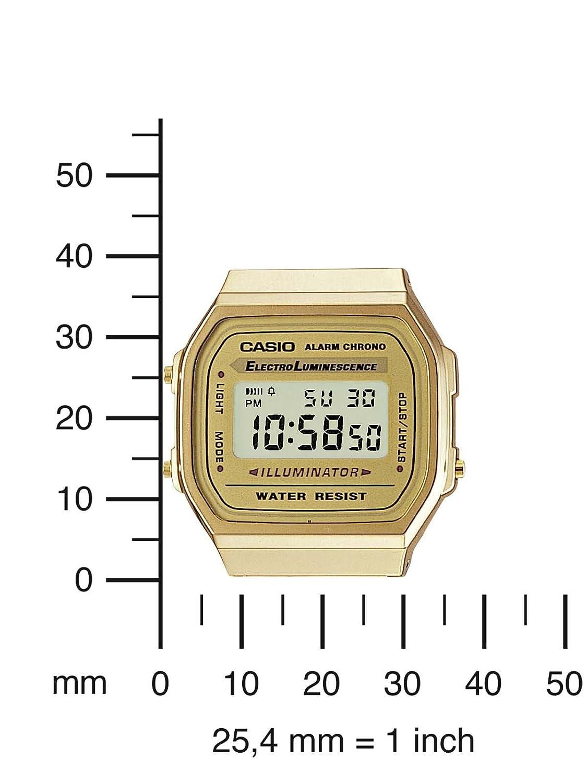 Reloj Casio Vintage A168WG-9EF