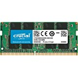 Crucial 16GB Single DDR4 2133 MT/s (PC4-17000) DR x8 SODIMM 260-Pin Memory - CT16G4SFD8213