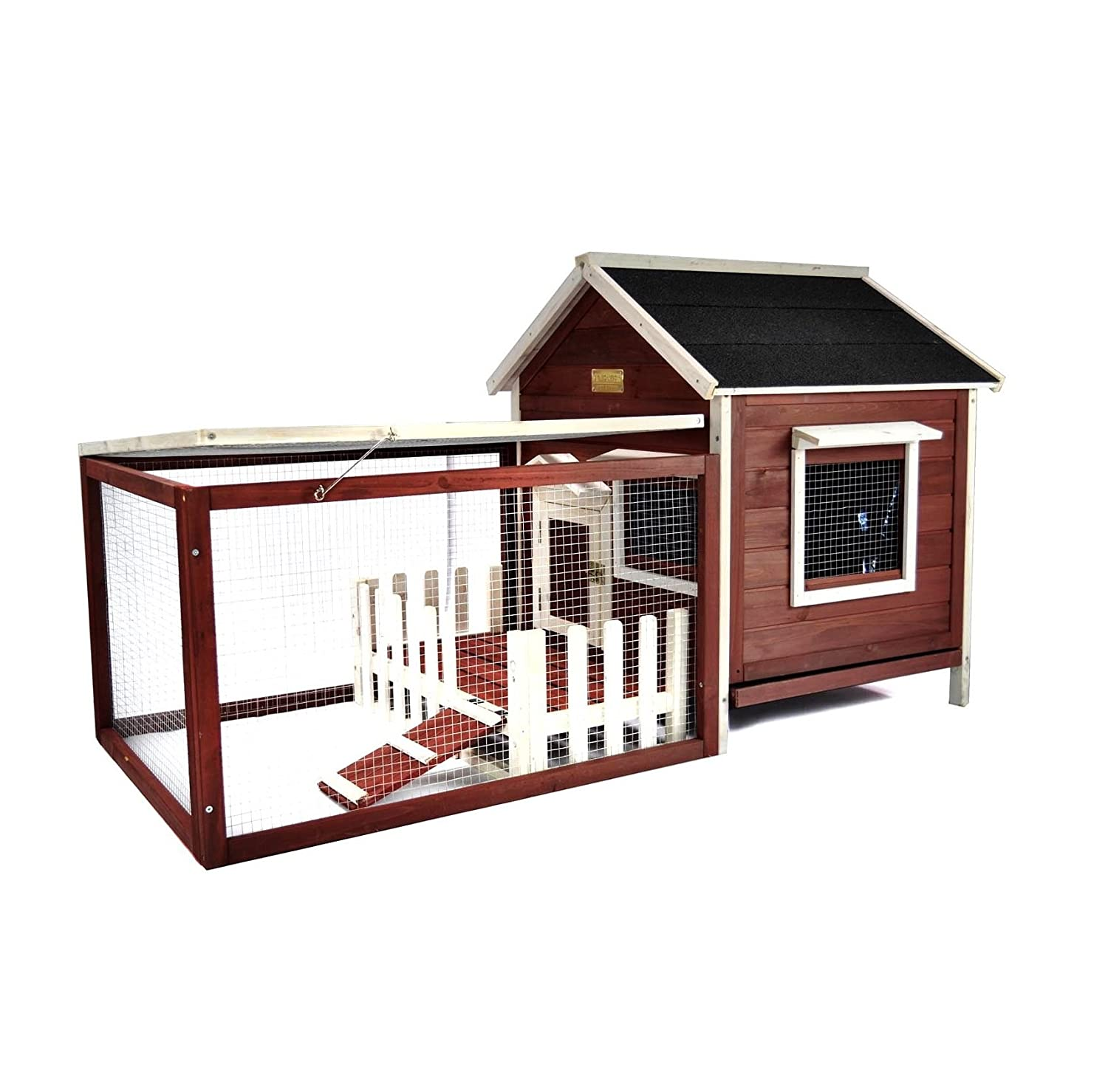 small x with p hutch beds enclosure run cages trixie outdoor ft extra rabbit