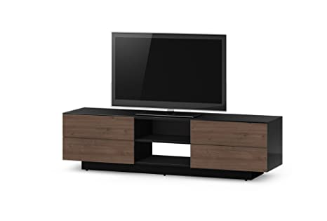 Sonorous LBA 180 cm Ready Assembled Cabinet - Dark Walnut
