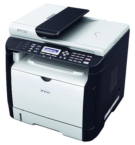 Ricoh - SP 311SFNw - Imprimante multifonctions - Noir et blanc - laser - A4 (210 x 297 mm) (original) - A4 (support) - jusqu'à 28 ppm (copie) - jusqu'à 28 ppm (impression) - 300 feuilles - 33.6 Kbits s - USB 2.0, LAN, Wi-Fi(n)