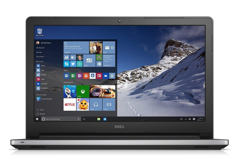 Dell Inspiron 15.6-Inch HD 1920 x 1080 LED Touchscreen Laptop (ntel Core i5-4210U, 8GB, 1TB HDD, DVD+/-RW Drive, HDMI, Bluetooth, Win 10), Silver