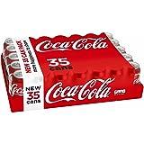 Coca-Cola Drink Cans, 12 Fluid Ounce (Pack of 35) (Tamaño: 12 fluid ounce)