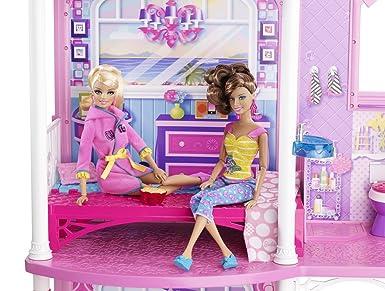 芭比娃娃海滨别墅房子barbie