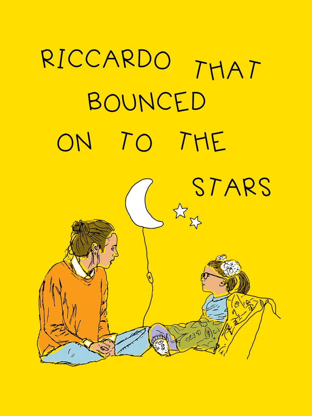 Riccardo that bounced on to the stars on Amazon Prime Instant Video UK