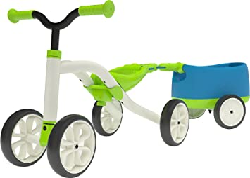 Chillafish Quadie+Trailie - Tricycle - vert/blanc 2017 tricycle bebe