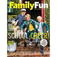 1-Year (8 issues) of Family Fun Magazine Subscription