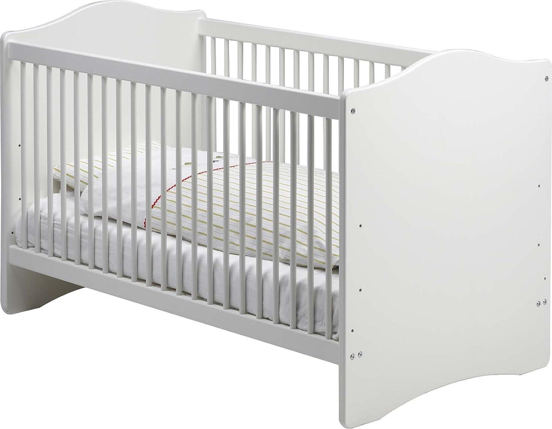 Steens Babybett Kimba (Farbe: weiß, Liegefläche (B x L): 70 x 140 cm)