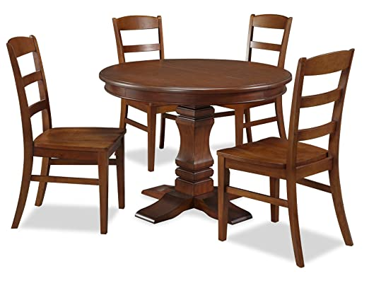 Home Styles The Aspen Collection Pedestal Dining Set