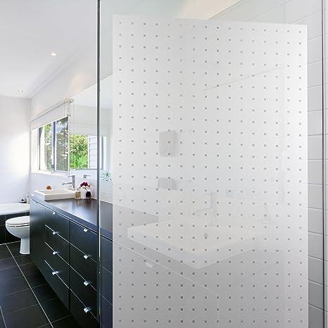 fenster und glas minimalistische pixel designfolie 200x75cm. Black Bedroom Furniture Sets. Home Design Ideas