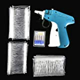 Price Tag Gun Kit SENREAL Clothes Tagging Gun Comfort Grip with 6 Needles and 1000 Barbs Fasteners for Boutique Store Warehouse Consignment Garage Yard Sale