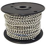 Ball Chain #10 Spool Nickel Plated Steel 100 Feet