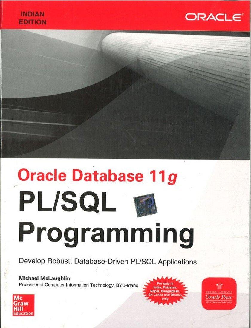 Oracle database 11g pl sql programming