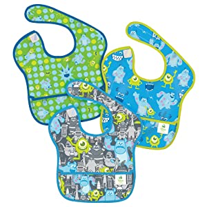 Bumkins Waterproof SuperBib, Boy Set - 3 Pack