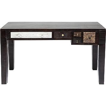 Kare Design mesa de oficina con 5 cajones de madera estilo desgastado Finca