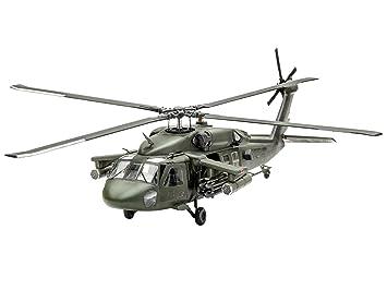 Revell Model Set - 64940 - Maquette - UH-60A Hélicoptère Transport - Kaki - Échelle 1/72 - 128 pièces