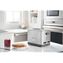 Frigidaire Professional Stainless 2-Slice Wide Slots Toaster