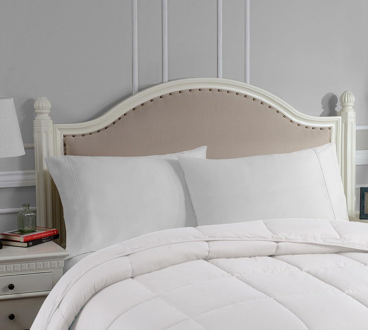 Superior White Down Alternative Pillow 2 Pack Premium