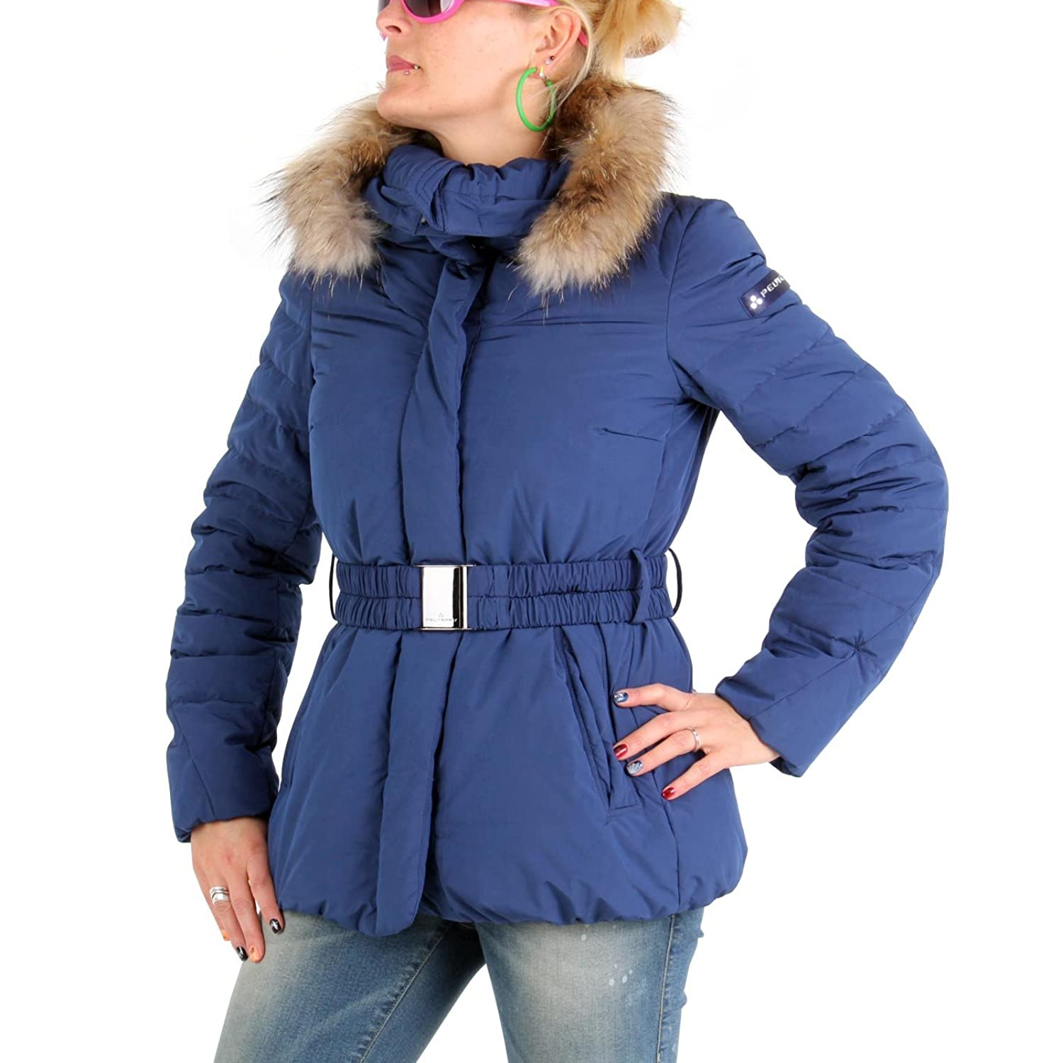 PEUTEREY Damen Winter Daunenjacke Messy Blue 556 günstig