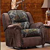 Chelsea Home Littleton Recliner In Mossy Oak - View Walnut