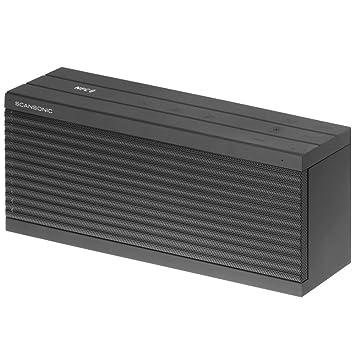 Scansonic BT200 Enceinte portable Argent