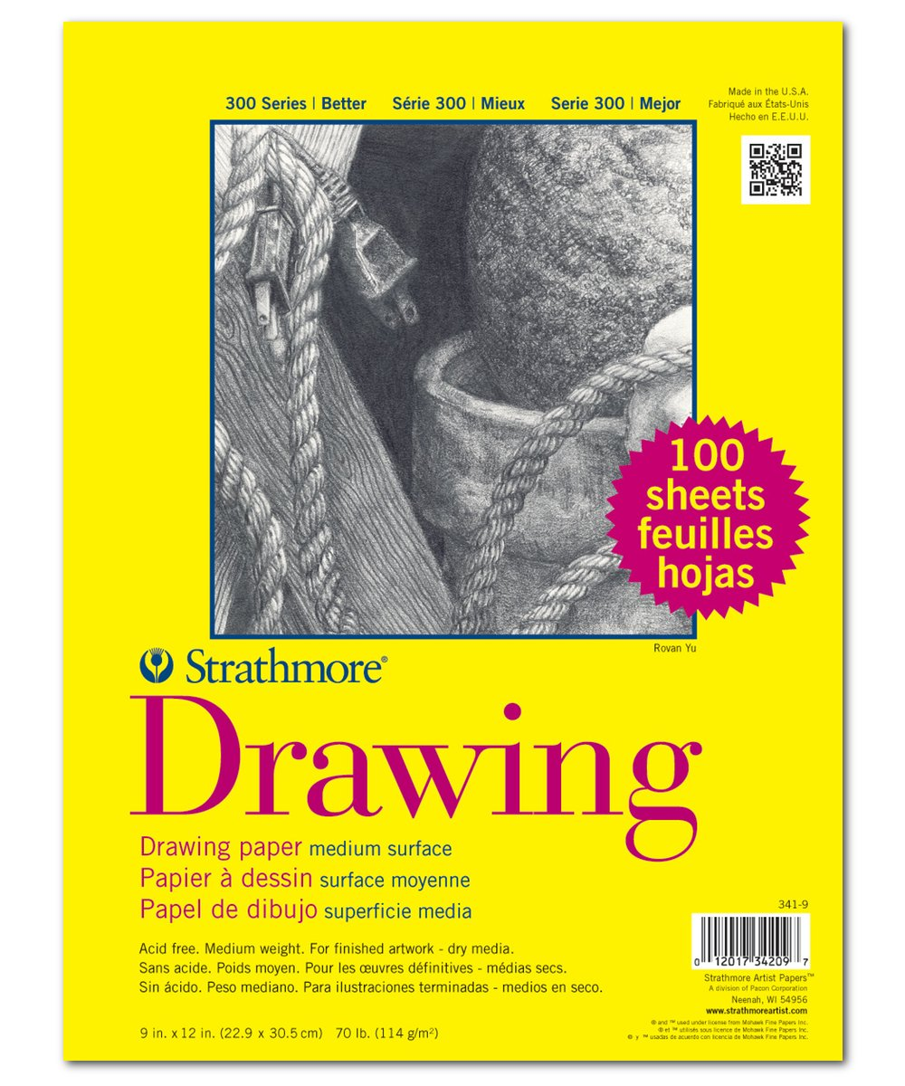 Strathmore Class Packs Drawing 9 in. x 12 in.