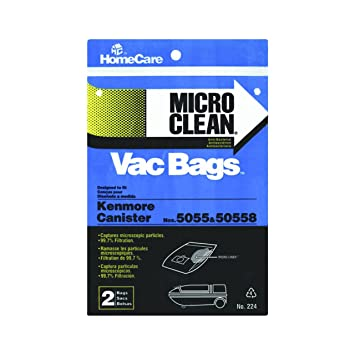 Home Care 224 Microclean Vacuum Cleaner Bags